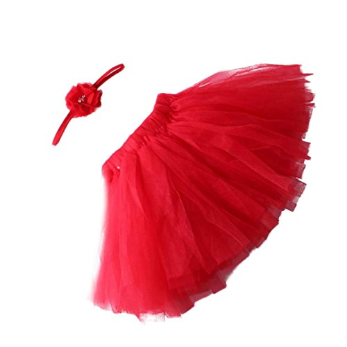 Plus Size Combat Girl Costumes (YJM Cute Newborn Baby Girls Boys Costume Photography Prop Clothes (Red))