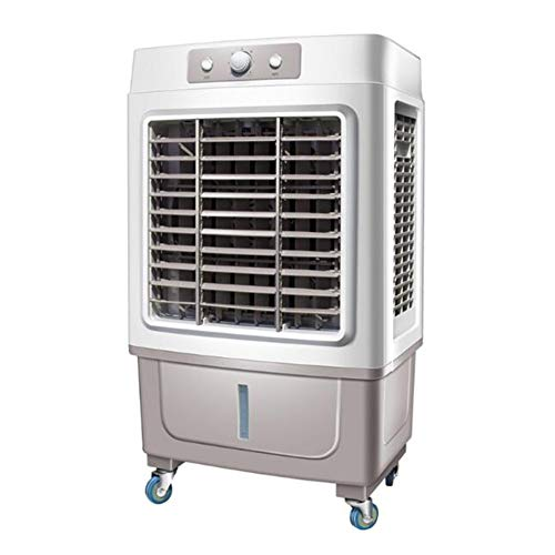 CJC Air Conditioners Portable Evaporative Air Cooler 100W 30L Water Tank 3 Modes/Speeds Office, Garage, Warehouse Fans (Color : Gray) Air Conditioning Heating Coolers Evaporative