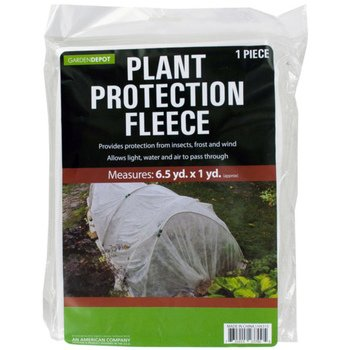 3'x19.5' plant protection fleece against frost, -