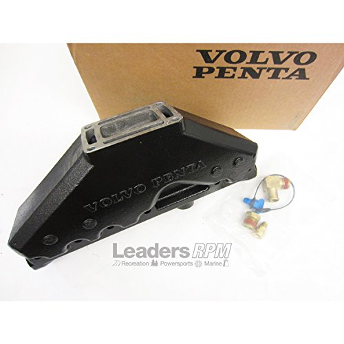 Volvo New OEM Penta OEM 4.3L V6 Boat Exhaust Manifold, Replaces 3857656, 3847499 (Manifolds Boat Exhaust)