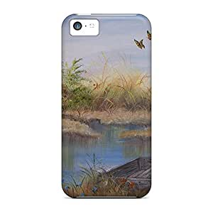 Protection Case For Iphone 5c / Case Cover For Iphone(the Quite Marsh)