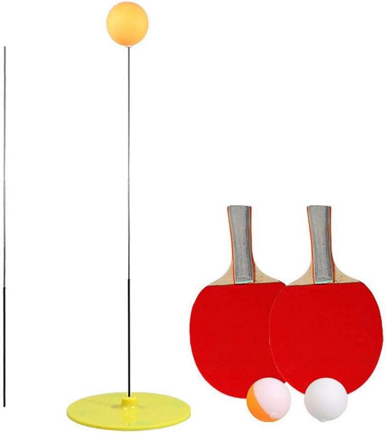 Entrenamiento de juguete de tenis de mesa con eje suave y elástico | Ping Pong Trainer Elastic Rod 90CM Descompresión Eye Training Ball Con Ocio Descompresión Deportes Set Interior Outdoor Play