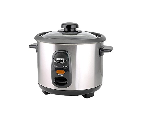 Home N Kitchenware Collection Stainless Steel 1.0L Rice Cooker and Warmer, Non-stick, 5 cup capacity, Multiple functions