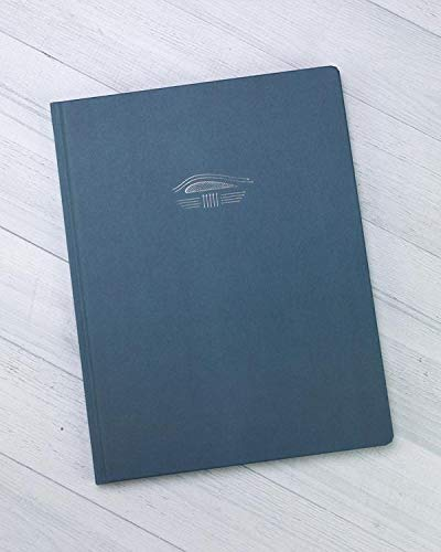 Cognitive Surplus Aeronautical Engineering Bound Pad Notebook (Hardcover, Grid Pages, 100% Recycled) by Cognitive Surplus
