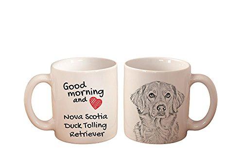 Nova Scotia Duck Tolling Retriever, mug with a dog, high quality, cup, ceramic, new ()