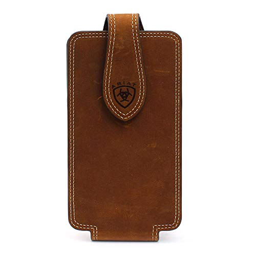 Ariat Unisex Double Stitched Cell Phone Case Brown One Size