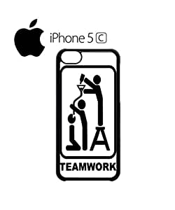 Team Work Beer Bong Cell Phone Case Cover iPhone 5c Black