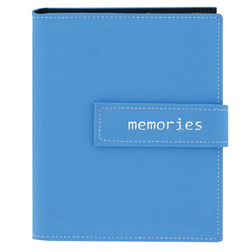 Memories Mini Photo Album (Pioneer Photo Albums 36-Pocket 4 by 6-Inch Embroidered