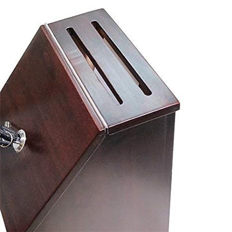 Amazon.com: MCB – madera caja de Sugerencia – Caja de ...