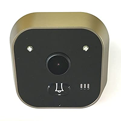3.2 Inch Color LCD 720P Motion Detection Peephole Viewer Video Doorbell,160 Wide Degree Angles Security Surveillance