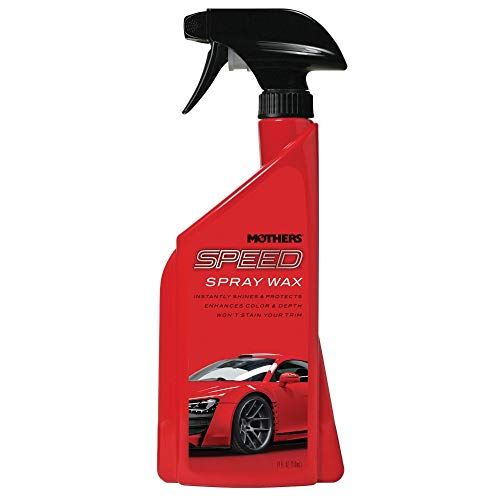 Mothers 15724 Speed Spray Wax, 24 fl. oz.