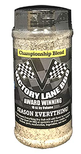 Victory Lane BBQ Season Everything/Season All Rub-VLBBQ 16 OZ Shaker Award-Winning Blend With NEW INTERACTIVE Augmented Reality Labels-Scan Label & watch it come to Life w/How To Video! by Victory Lane BBQ