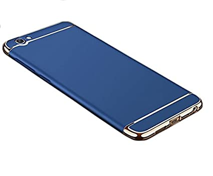 best website bad5a f8054 Covernew 3 In 1 Back Cover for Oppo F1S - A1601 - Navy: Amazon.in ...