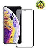 Vanford - iPhone XR [6.1''] 3D Screen Protector [Edge to Edge Full Screen Coverage] Premium Tempered Glass Screen Protectors for Apple iPhone XR with [Easy Installation] Bubble Free [Case Friendly]