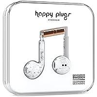Happy Plugs Earpod Plus, White Marble (7828)