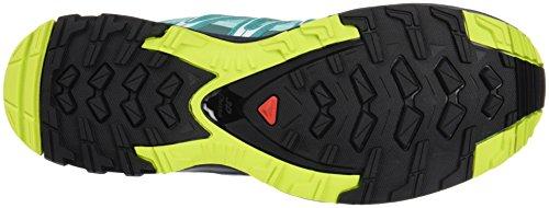 Salomon Xa Pro 3d Gtx W, Zapatillas de Running para Asfalto para Mujer Azul (Aruba Blue/Ombre Blue/Lime Punch)