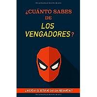 ¿Cuánto sabes de los Vengadores?: ¿Aceptas el reto? Regalo para fans de Los Vengadores. Libro de Los Vengadores. Regalo para amantes de los cómics. ... Regalo para jóvenes. The Avengers libro.