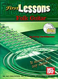 First Lessons Folk Guitar Book/CD Set - First Lessons Folk Guitar