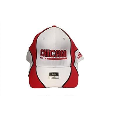 Chicago Bulls Adidas White Pro Shape Hat S/M