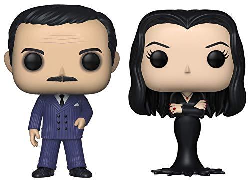 Funko Pop! TV: The Addams Family - Gomez and Morticia - Set of 2