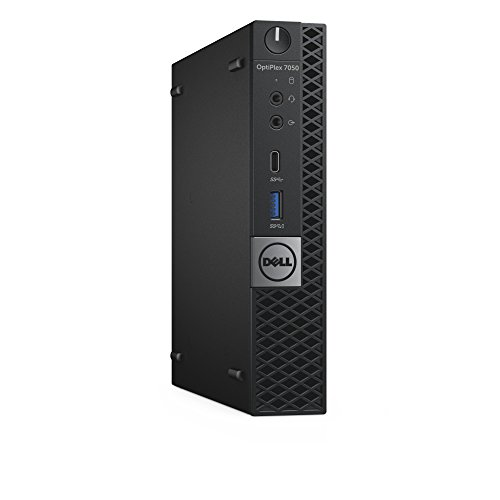 Dell OptiPlex 7050 Micro Form Factor Desktop Computer, Intel Core i5-7500T, 8GB DDR4, 500GB Hard Drive, Windows 10 Pro (JXKHY)