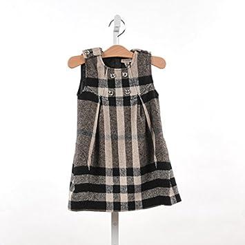 f97accd4661dd BURBERRY(バーバリー) 子供服 ノバチェック ワンピース 98 cm   3歳  並行