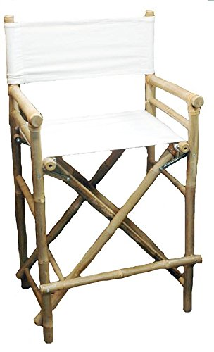 High Bamboo Director's Chair [Set of 2] ()
