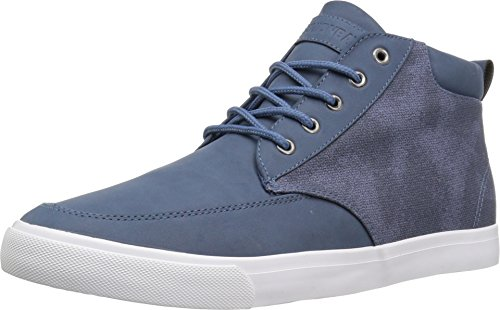 Blue Top High (UNIONBAY Mens Coupeville High Top Sneaker-NAVY-13)