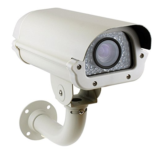 GW Security 2MP HDCVI/TVI/AHD/960H 4-In-1 Outdoor Day/Night HD 1080P License Plate Camera with 6~60mm Varifocal Auto Iris Lens up to 260ft IR distance, Support True WDR, 3D-DNR, - Recognition Camera License Plate
