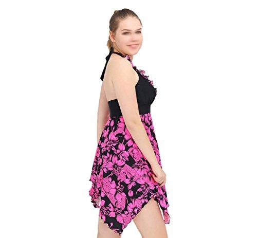 Sra. Del Bikini Con Fertilizante XL Traje De Baño Multicolor Pink