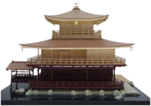 1/100 Scale Model - Kinkaku-ji - Temple of the Golden Pavilion - Construction Kit by Fujimi