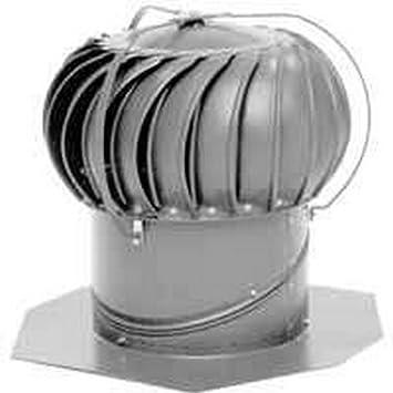 Whirlybird Beb 12 Rigid Spider External Braced Turbine Ventilator 110 Mph 12 In Aluminum Roof Vents Amazon Com