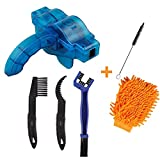 Bicycle Cleaning Brush Tools Set Including Bike