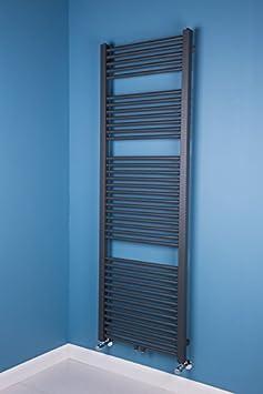 Falun scaldasalviette 1800 x 600mm grigio WarmeHaus