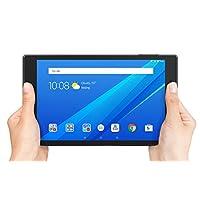"""Lenovo Tab 4, tableta Android de 8 """", procesador de cuatro núcleos, 1.4GHz, almacenamiento de 16GB, negro pizarra, ZA2B0009US"""
