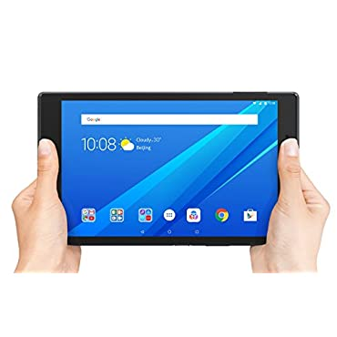 Lenovo Tab 4, 8 Android Tablet, Quad-Core Processor, 1.4GHz, 16GB Storage, Slate Black, ZA2B0009US