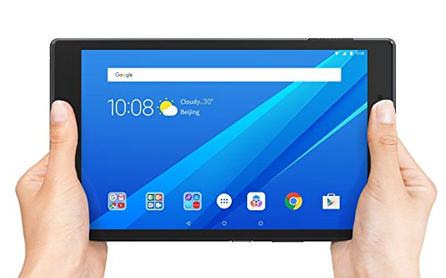 Lenovo Tab 4, 8″ Android Tablet, Quad-Core Processor, 1.4GHz, 16GB Storage, Slate Black, ZA2B0009US
