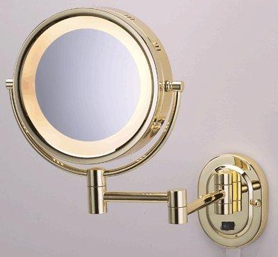 Seeall 8 Polished Brass Finish Dual Sided Surround Light