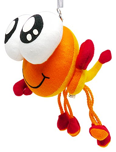 Funny Scorpion Bouncing Up 'n Down Hanging Plush Doll Toy (Robin Outfit For Babies)