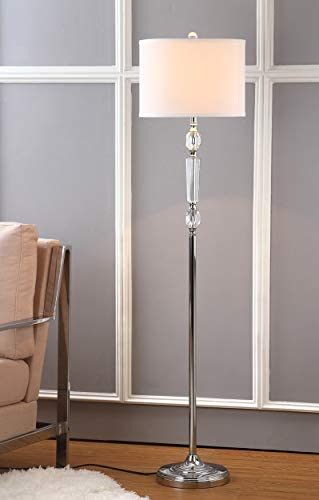 Safavieh Lighting Collection Fairmont Clear 60.25-inch Floor Lamp