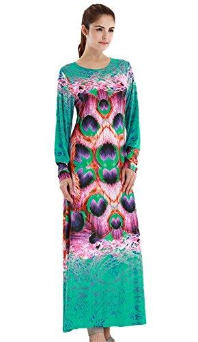 Damen Grün Insun Grün Insun Kleid Damen TYfZxZ