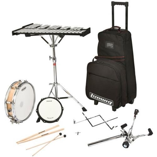 Student Percussion Kit - Ludwig LE2482R Percussion Learning Center Combo Kit