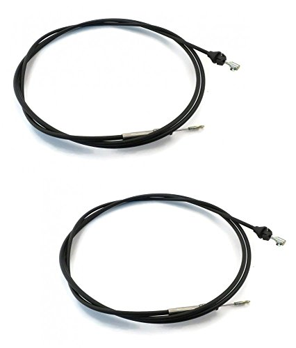 (2) New Snow Plow JOYSTICK CONTROL CABLES (Adjustable) for Western 56130 Blade by The ROP Shop