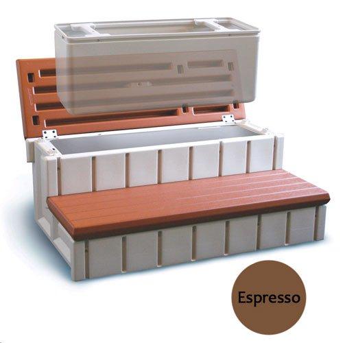 Confer Plastics LASS36-SC-E 36 in. Storage Step Expresso ()