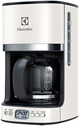 Electrolux EKF7500W - Cafetera en acero inoxidable, color beige: Amazon.es: Hogar