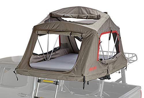 Yakima SkyRise HD Tent: 4-Person 4-Season Tan/Red, One Size