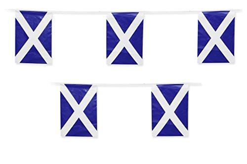 Scotland Flag Scottish String Flags Banner 33ft Decoration