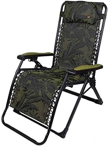ADHW Reclinable Silla al Aire Libre, Sun Silla Tumbona, Muebles de jardín, sillas reclinables Balcón de Ruedas, Plegable reclinable de Gravedad Cero: Amazon.es: Hogar