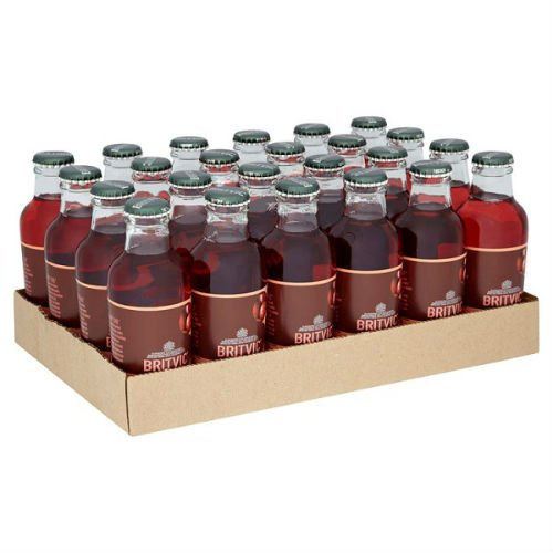 Britvic Cranberry Juice Soft Drink 160Ml Case Of 24