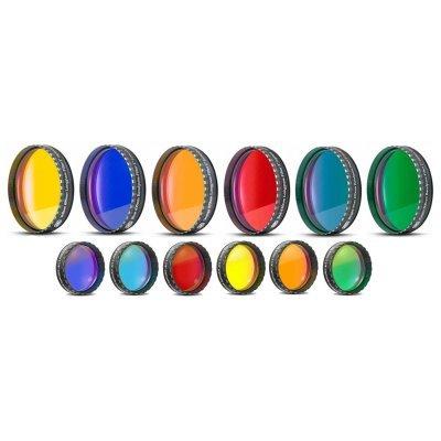Planetarium Premium Six-Piece Color Filter Set, 2'' Eyepiece by ChromLives